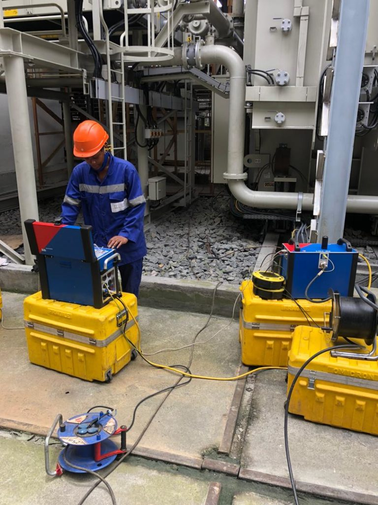 ALUCAM :Essais sur le transformateur redresseur pour le GR11.1